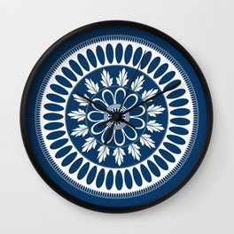 Botanical Ornament Wall Clock