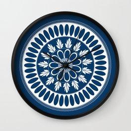 Botanical Ornament Wall Clock