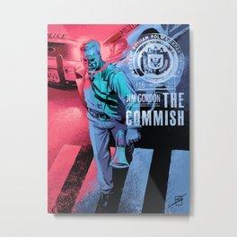 James Gordon Metal Print