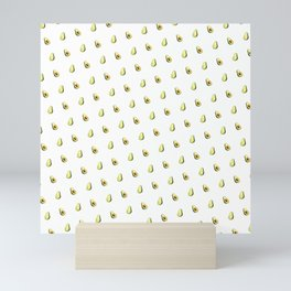 Avocado Print | White Mini Art Print