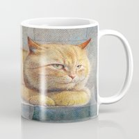 ginger Mugs featuring Ginger by irshi