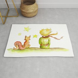 Little Pince and Fox 2 Rug