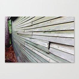 Green Barn Canvas Print