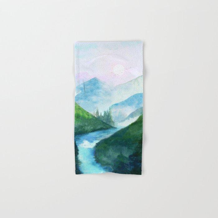 Mountain River Hand & Bath Towel