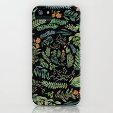 circular garden at nigth iPhone SE Slim Case