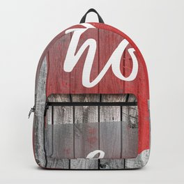 Ohio Map Home Barn Wall Painting Backpack