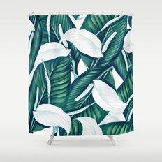 Tropical Winter #society6 #decor #buyart Shower Curtain