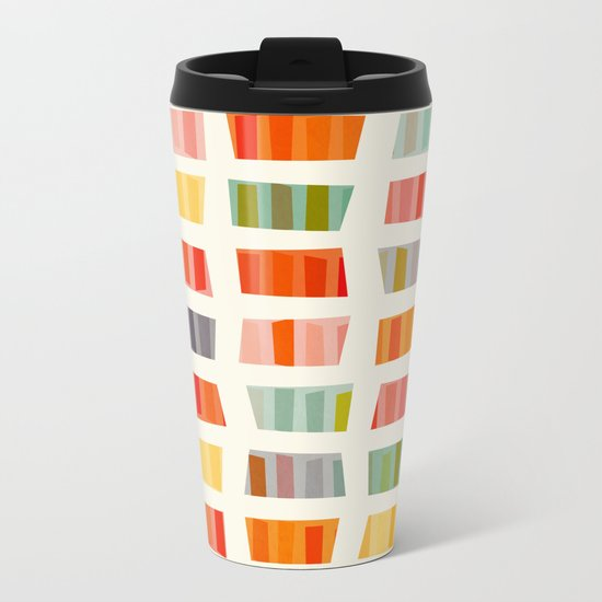 BEACH TOWELS Metal Travel Mug