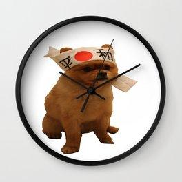 Sushi dog Pepe Wall Clock