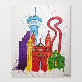 Alamo City Canvas Print