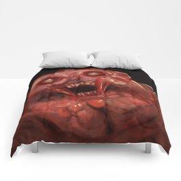 Mutant Ninja Turtles fan art, Krang unleashed Comforters
