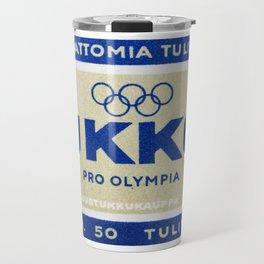 Old Matchbox label #3 Travel Mug