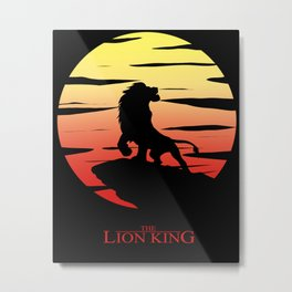 The Lion King 20th Anniversary Tribute Metal Print