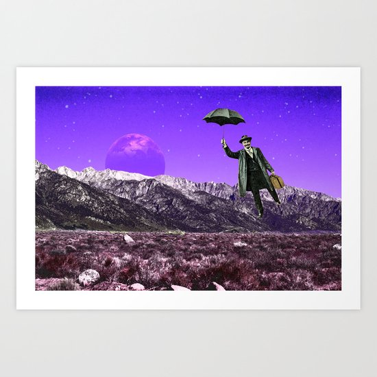 Business Trip Art Print