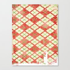 Vintage Wrapping Paper Canvas Print