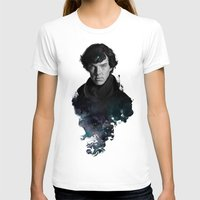 portrait T-shirts featuring The Excellent Mind by Artgerm™
