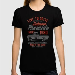 live to drive extreme freeride T-shirt