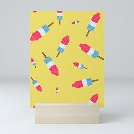 Popsicles - Retro Pattern  Mini Art Print