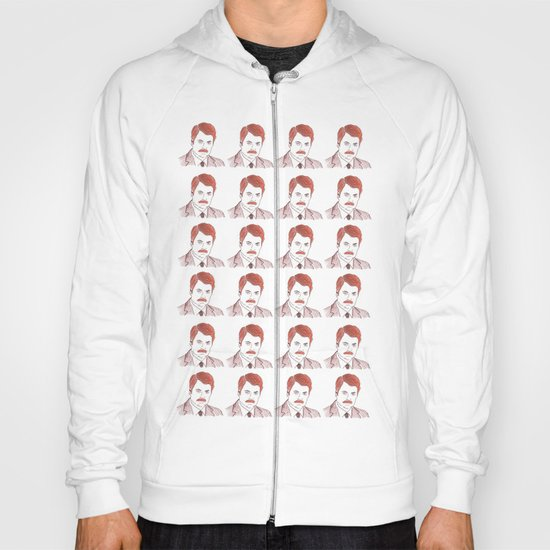 "Ron Swanson ""Diptych"" Hoody"