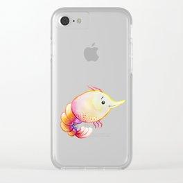 Shrimp Sea Creature Clear iPhone Case
