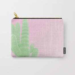 Cactus Pink Carry-All Pouch