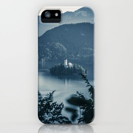 Lake Church  - Slovenia iPhone Case