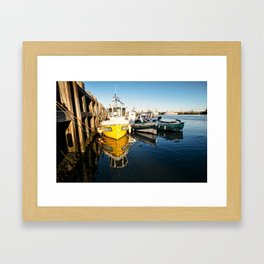 Done Fishing Framed Art Print