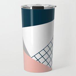 Colorful geometry 16 Travel Mug