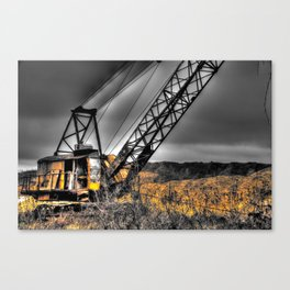 Ghostly Operator Canvas Print