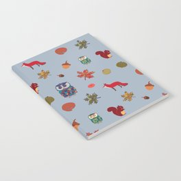 Fall Animal Party Notebook