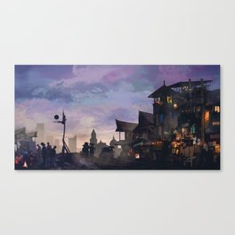 The Outskirts: Ball is Life Canvas Print