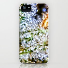 Gorilla Glue Trichomes Strain Indoor Hydro Private Reserve Buds iPhone Case