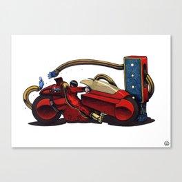 Kaneda. Canvas Print