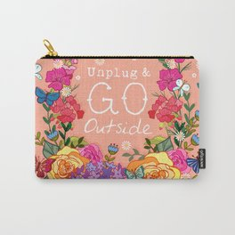 Unplug & Go Outside Carry-All Pouch