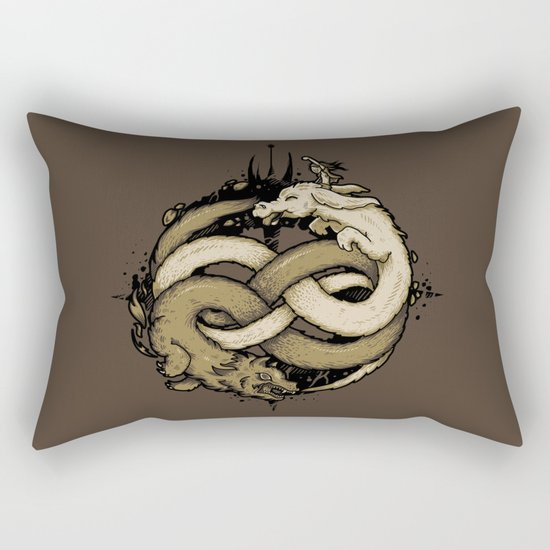NEVERENDING FIGHT Rectangular Pillow