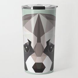 R is for Raccoon Travel Mug