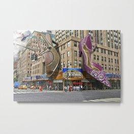 New York Shoes Metal Print