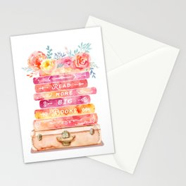 Read More Big Books Stationery Cards