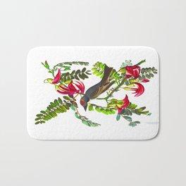 Piping Flycatcher Bird Bath Mat