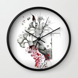 Colirrojo de las 4 de la mañana Wall Clock