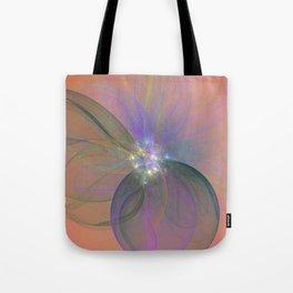 Fairy Blossom Fractal Tote Bag