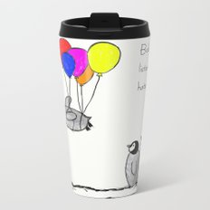 To be a Flying Penguin Metal Travel Mug