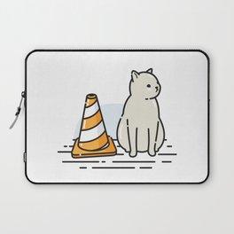 Street Cat / Wait (W8) Laptop Sleeve
