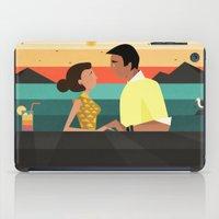 tequila iPad Cases featuring Tequila sunrise by Slavena Peneva