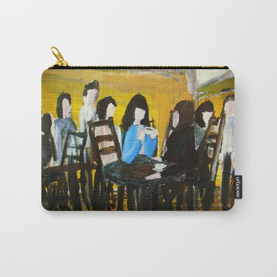 Let's Have A Coffee, And I Will Tell You Why He Is No Good For You  Carry-All Pouch