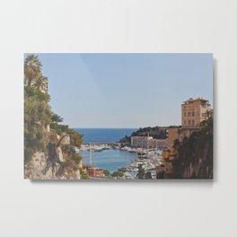 Monaco Metal Print