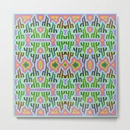 h - pattern 1 Metal Print
