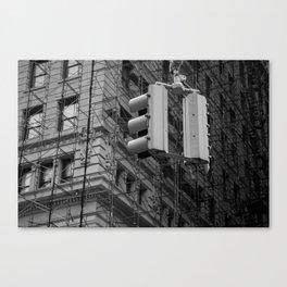 NYC traffic lights Canvas Print