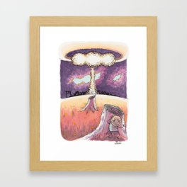 Nuke Framed Art Print