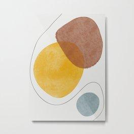 Abstract Watercolor XIV Metal Print